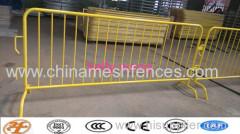 Haotian HDG 2200mm crowd control fencing fabriek