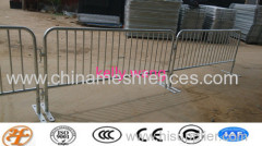 crowd control fencing;steel barricade;crowd control barrier