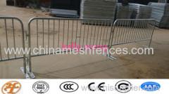crowd control fencing;steel barricade;crowd control barrier