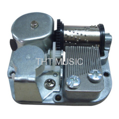 18 Note Wind up Vintage Music Box Mechanism Janpan Sankyo