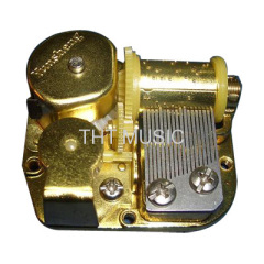 Vintage Windup Music Box Mechanism