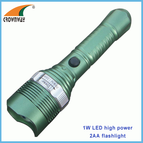 1W LED Plastic torch zoomble lantern portable lantern 80Lumen high power hook lamp zoomble table 3AAA lamp camping lamp