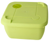 China manufacturer PP airtight microwave plastic salad bowl with lid