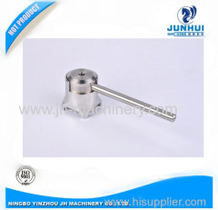 Stainless Steel Butt Weld Butterfly Valves Gripper Handle