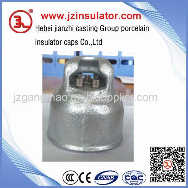 60KN electrical porcelain ceramic insulator cap XP-40