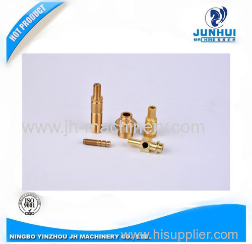 Customized CNC Machining Threaded Brass Joint
