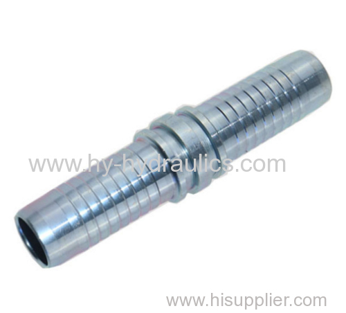 Metric Straight Pipe Double Ferrule Connection Hydraulic Fittings 90012