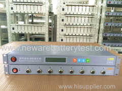 Rechargeable battery testing system 5V10mA testing Capacity pulse cycle life