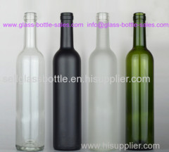 750ml Bordeaux Style Wine Bottle