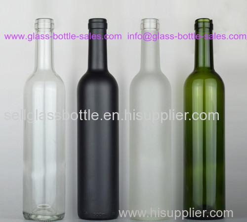 750ml Bordeaux Style Wine Bottle