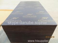 KANGAROO FILM FACED PLYWOOD WITH POPLAR CORE AND WBP MELAMINE GLUE ADD BROWN PRINTED FILM
