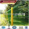 High quality Green Vinyl Coated Triangle Bending Fence / 3D Fence Panel