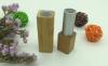 eco-friendly bamboo lip stick aluminum lip stick container