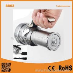 8862 Best Powerful T6 Led 3pcs 18650 Batteries High Power Long Range LED Tactical Flashlight