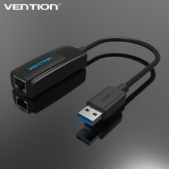 Vention Superspeed USB to RJ45 Lan Card USB 3.0 10/100/1000Mbps Gigabit Ethernet RJ45 External Network Card Lan Adapter