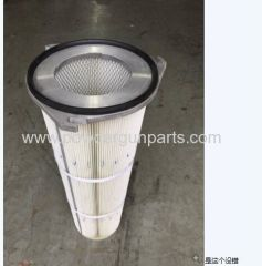 air filter for powder coating booth