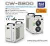 S&A re-circulating water chiller for electronic product heatsink