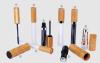 wood Bamboo MAKE-UP SERIES lip gloss tube & mascara& eyeliner bottle