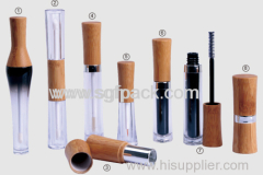 lipstick case tube bamboo package bamboo lipstic tube MASCARA EYELINER