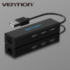 Vention High Speed USB 2.0 to 10/100 Mbps RJ45 Lan Network Ethernet Adapter Card With 3 Ports USB Free Drive