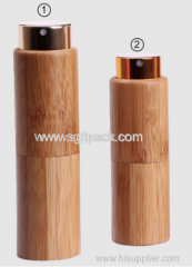 wooden perfume spray bottle roll on bamboo 10ml/20ml