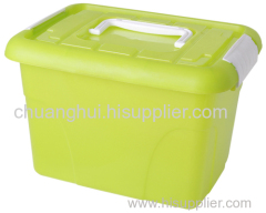 プラスチック製の収納ボックス小多機能透明なプラスチック製の収納ボックス