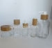 Glass Containers shoulder clear glass bottle