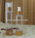 AS Plastic Airless Bottle Bamboo Packaging Transparent Color Lotion Container