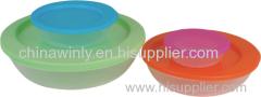 Round Plastic opslag Dagelijks gebruik
