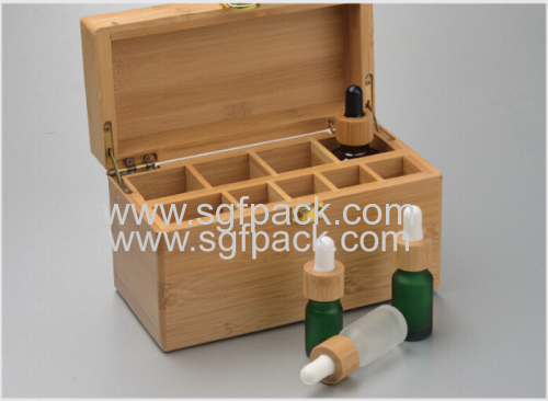 eco-friendly wood bamboo cosmetic packaging