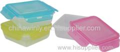 正方形のシールプラスチックの箱デイリー使用