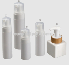 300ML PET FOAM BOTTLE WHITE