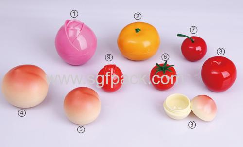 FRUIT SHAPE CREAM JAR