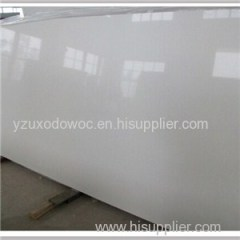 Cut To Size Pure White Quartz Stone