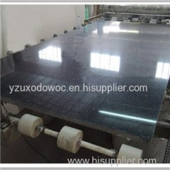 Crystal Black Quartz Stone Slab For Countertops