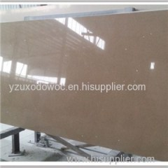Big Slab Artificial Sparkle Brown Quartz Stone