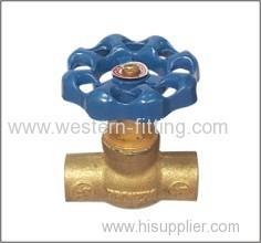 Brass Stop Valve Iron Handwheel