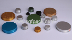 PP Electroplating plastic cap for cosmetic package