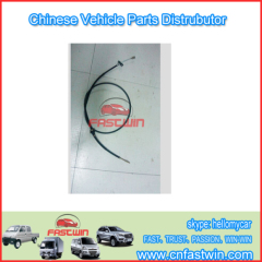 Chevrolet N300 CLUTCH CABLE WITHOUT WHITE CLIPS 1.96M