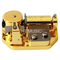 Music Box Inserts Vintage Musical Mechanism