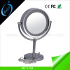 LED modern standing mirror wedding table decoration mirror with lights
