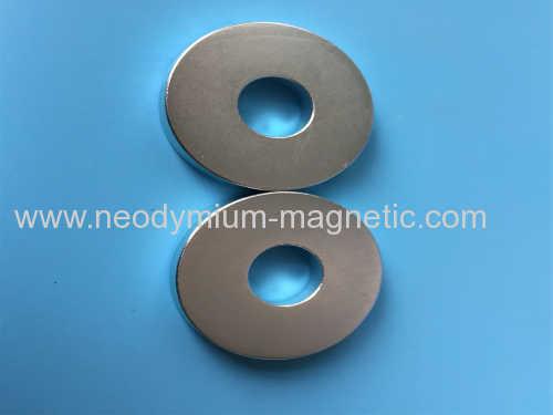 NiCuNi coating Zn Coating ring magnet
