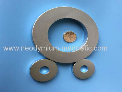 N38SH speaker big ring ndfeb magnet