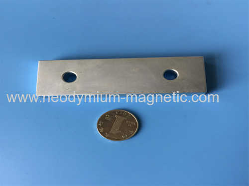 various Ndfeb block magnet with countersunk holes