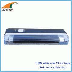 UV LED money detector lamp 4W T5 UV tube lights LED pocket lamp
