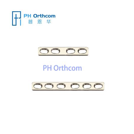 Титановый Средняя пластина для челюстно-лицевой хирургии Толщина 0.8mm Mini прижимная пластина для челюстно-лицевой