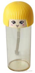 とてもかわいいホットかわいいキャンディシールローププラスチックカップ