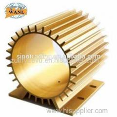 Anodizing Inverter Copper Heat Sinks
