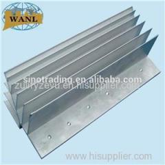 Silver Anodizing Aluminum Convertor Heat Sinks