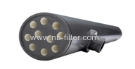 Tubular micro-filtration membrane for waste water treatment